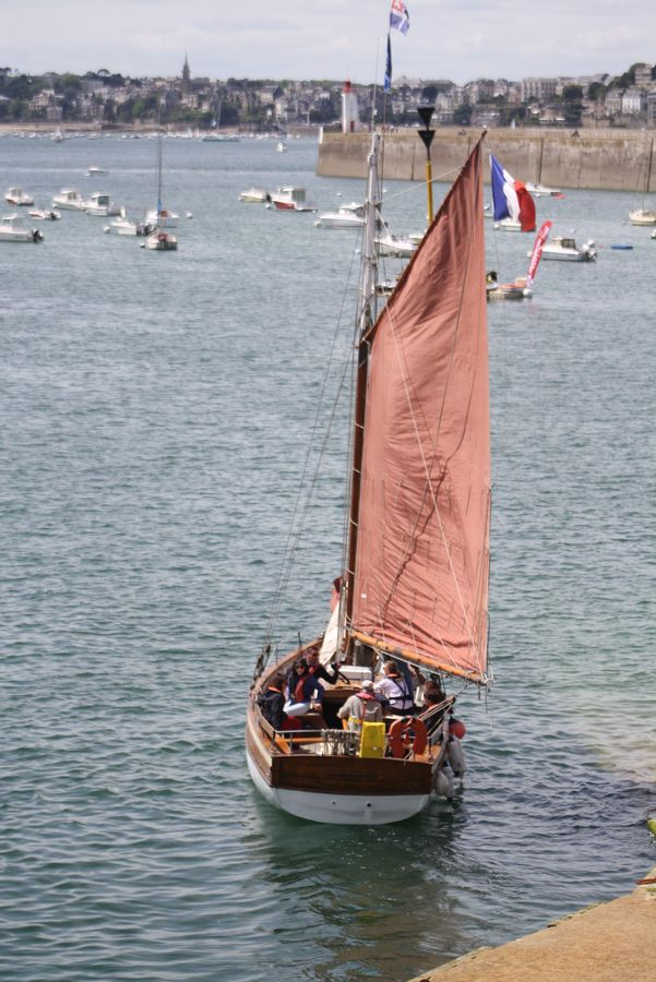 Association RIGEL voile traditionnelle Saint-Malo