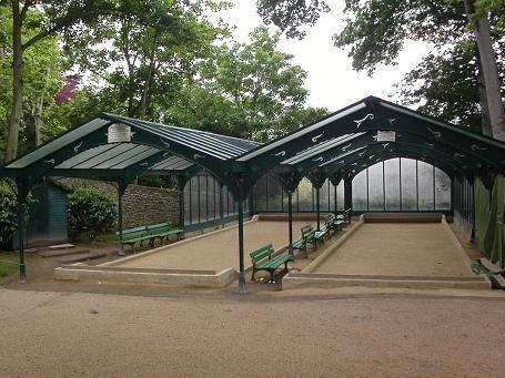 Boulodrome couvert du parc Bel Air de Saint-Servan