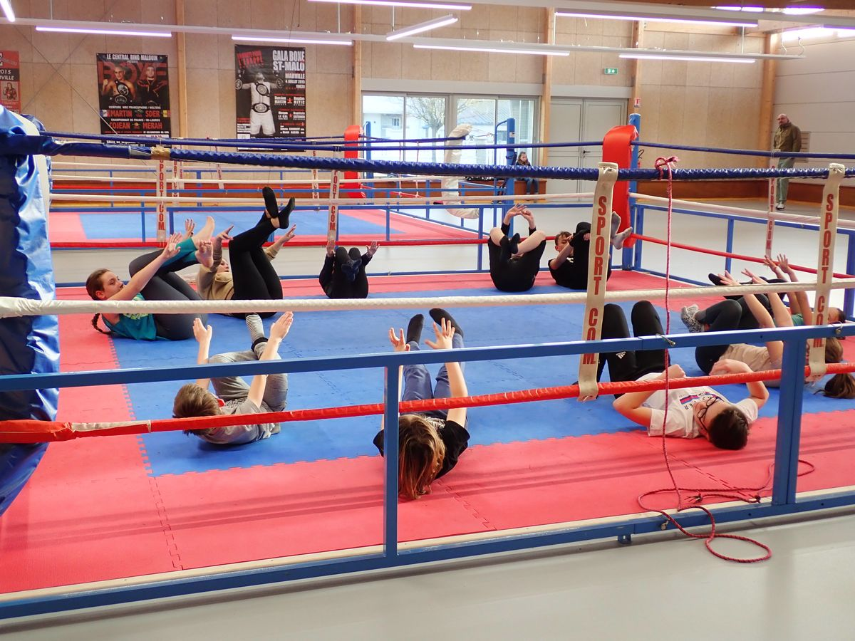 Central Ring Malouin - boxe pieds poings