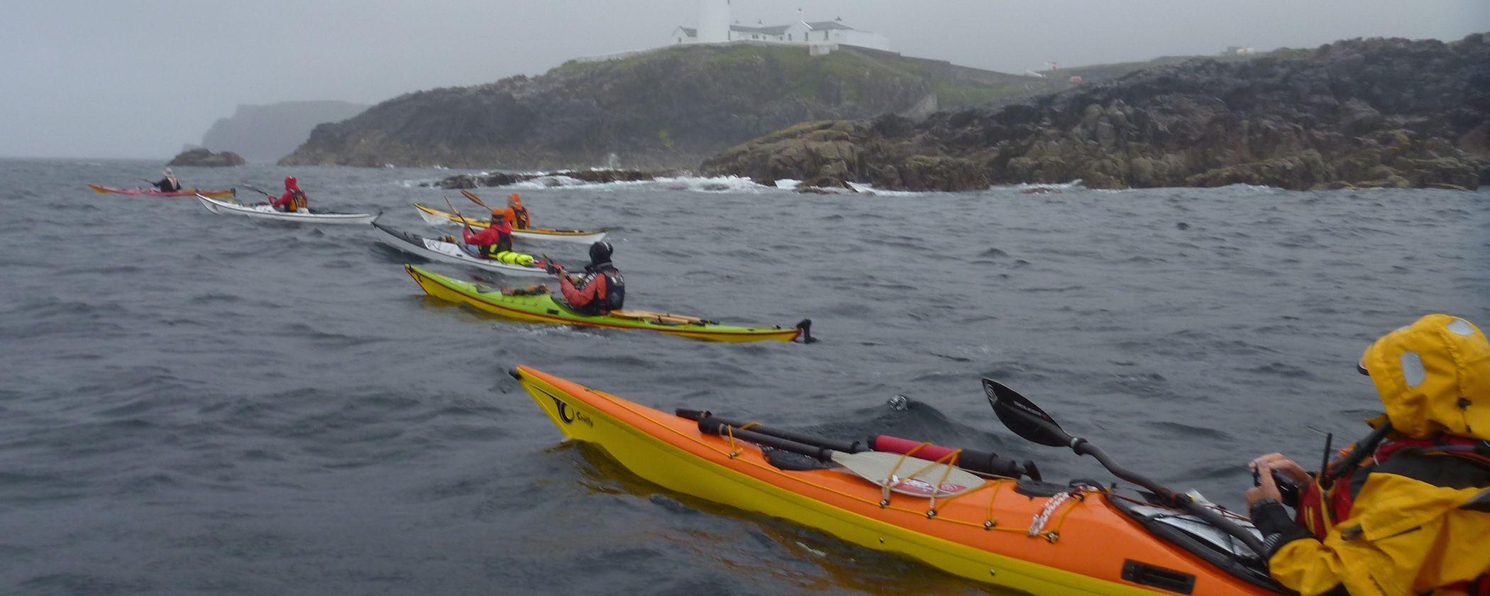 Kayak de mer de la côte d'émeraude Saint-Malo randonnée