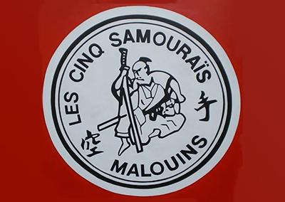 Les Cinq Samouraïs Malouins