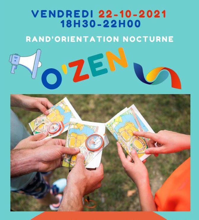 OZEN parcours orientation nocturne octobre 2021 Saint-Malo