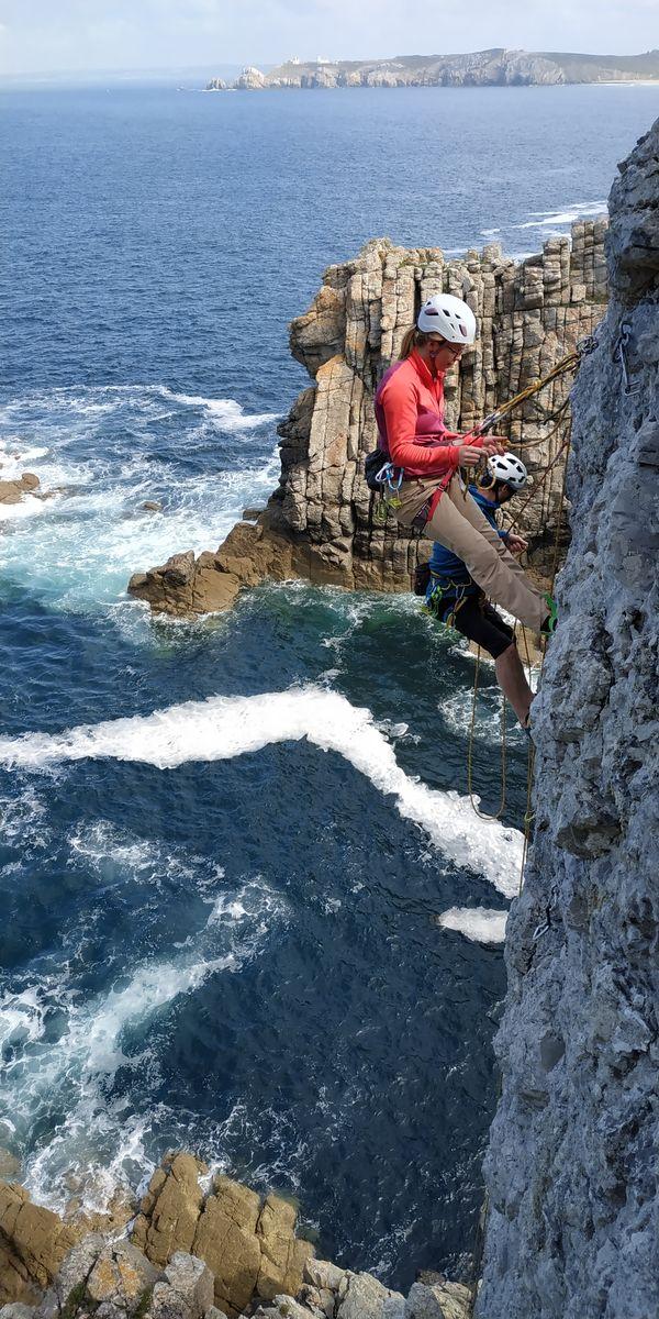 ROC et MER escalade à Saint-Malo