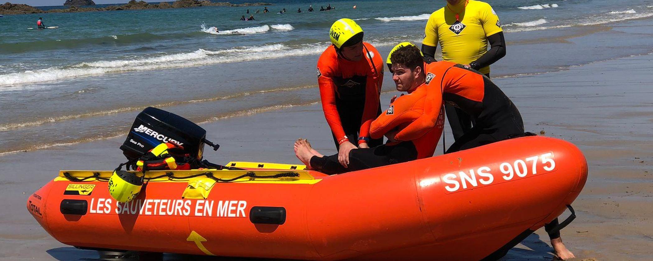 SNSM centre formation ille et vilaine Saint-Malo sauvetage en mer