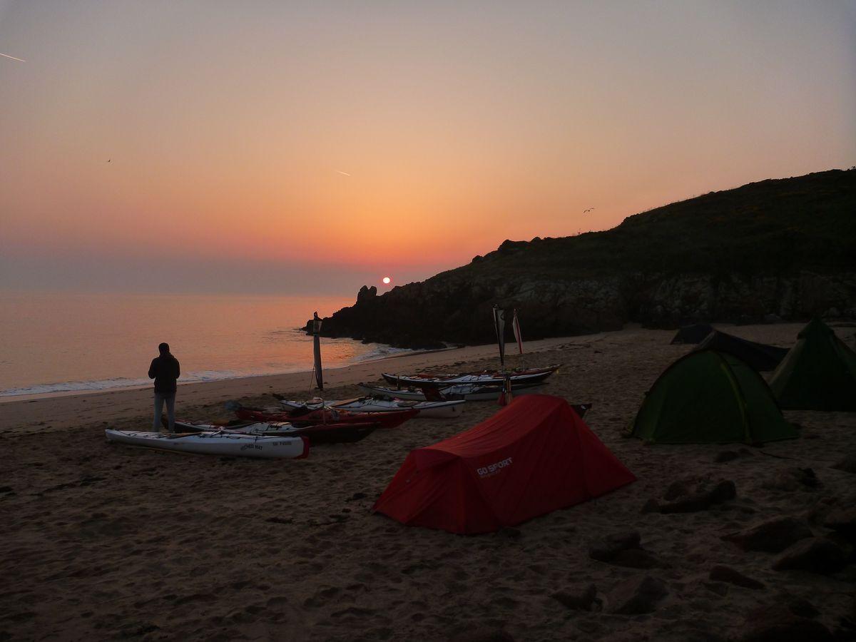 Sortie en mer avec Kayak Mer de la Côte d'Emeraude Saint-Malo