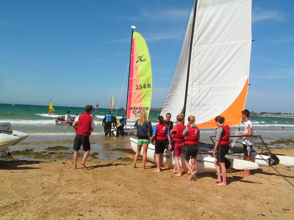 Surf School Saint-Malo Catamaran