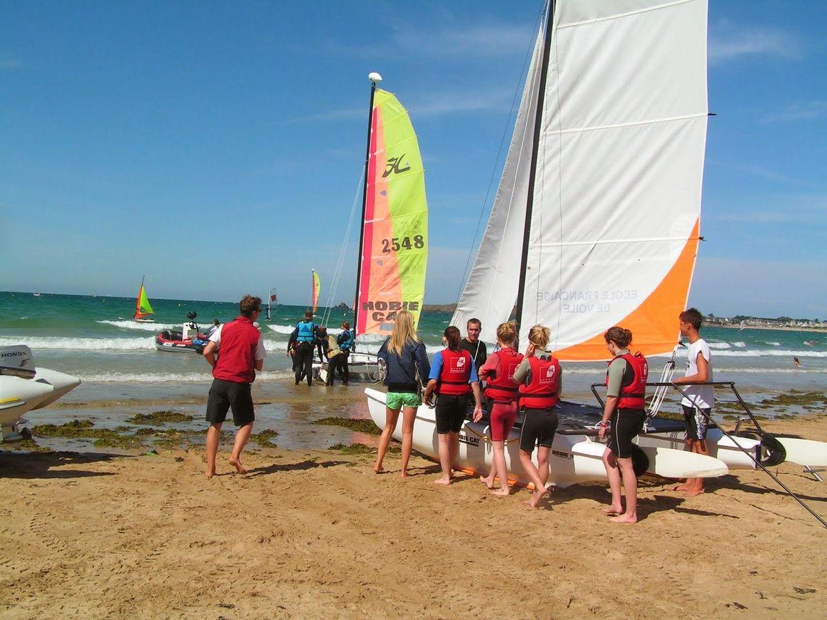 Surf School Saint-Malo Catamaran