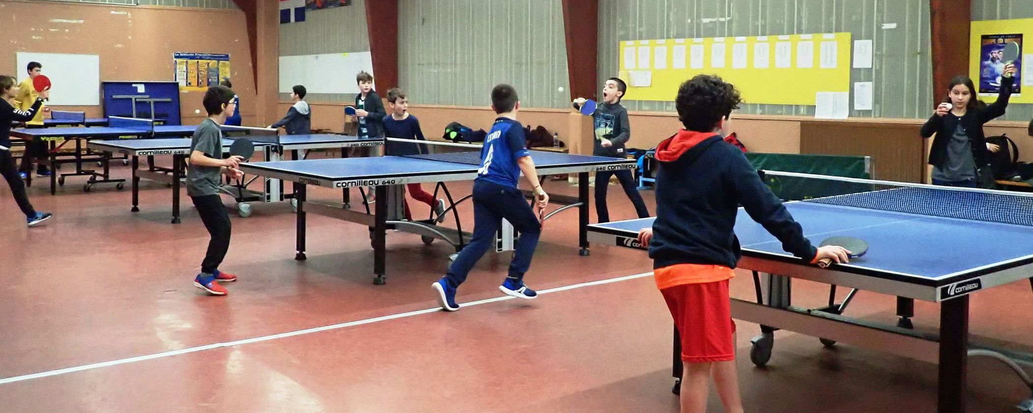 Tennis de table OSEN Saint-Malo