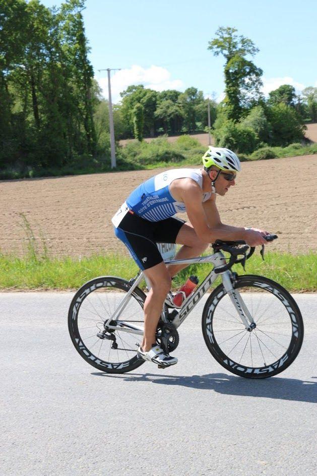 Triathlon de la Côte d'Émeraude à Saint-Malo cyclisme