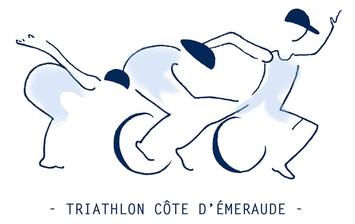 Triathlon de la Côte d'Émeraude à Saint-Malo