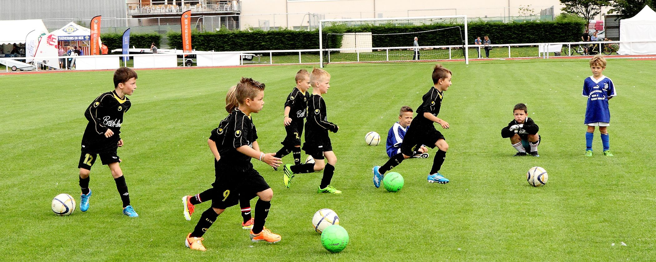Animation football Saint-Malo Village des associations