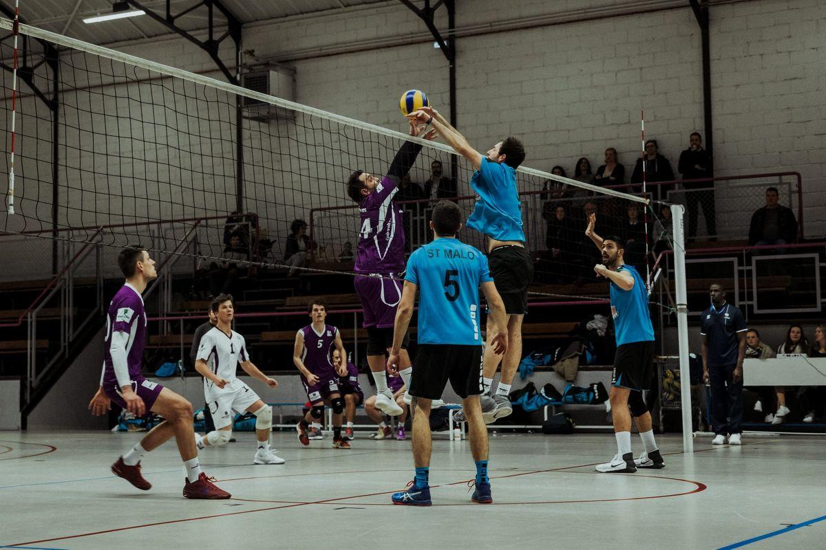 Volley-Ball Club Malouin - équipe Masculine VBCM