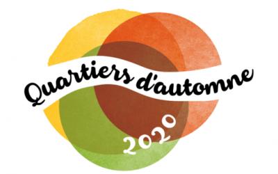 Plan quartier d'automne 2020, programme des animations