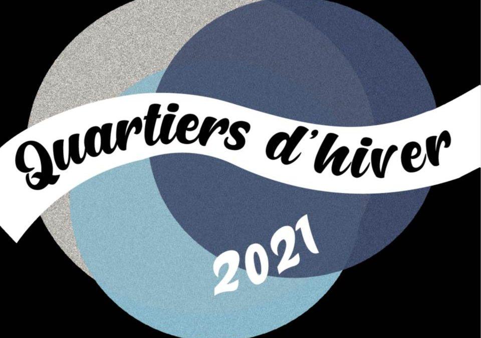 Plan Quartier Hiver 2021