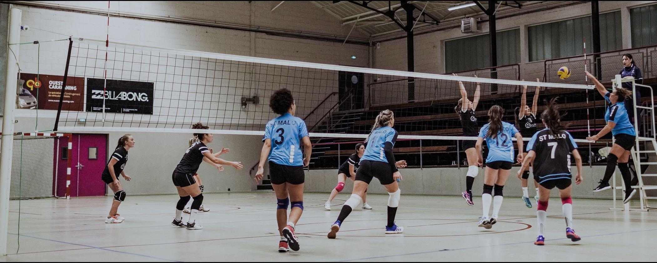 volley ball club saint-malo
